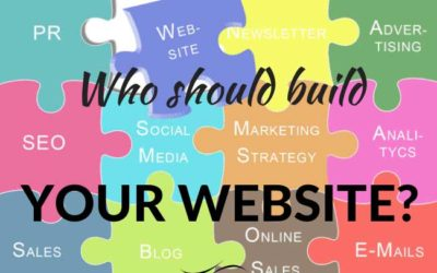 Who should build your website?