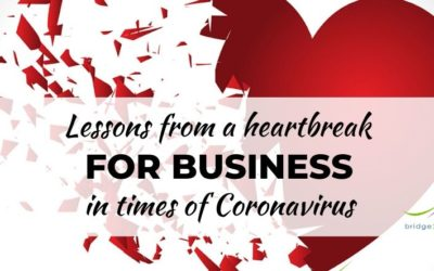Lessons from a heartbreak for business in times of Coronavirus
